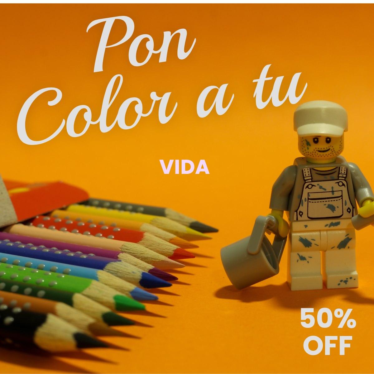 Pon Color a tu Vida
